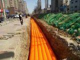 HDPE電力波紋管